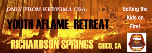 Youth Aflame Retreat